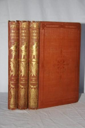 The Tour of Doctor Syntax (3 volumes) In Search of the Picturesque, In Search of Consolation, In ...