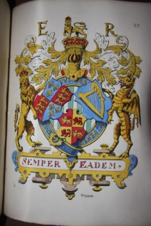 Regal Heraldry: The Armorial Insignia of the Kings and Queens of England from Coeval Authorities: ...
