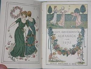 Almanack for 1892: Greenaway, Kate