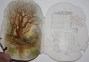 The Daisy Basket Calendar for 1892