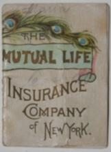The Mutual Life Insurance Company of New York [Calendar for] 1890