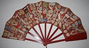 Fan with College and Preparatory School Names along with Place Names, Restaurant Names, Hotel Nam...