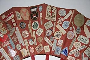Fan with College and Preparatory School Names along with Place Names, Restaurant Names, Hotel Names...