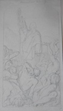 Six Original Pencil Sketches of Scenes from the Bible by Sir John Tenniel: Tenniel, Sir John