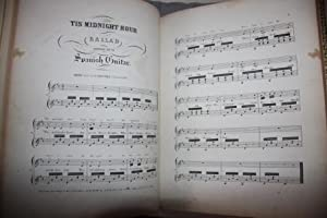 Fine Binding] Collection of Spanish Guitar Sheet Music from the Mid-Nineteenth Century (mostly from...