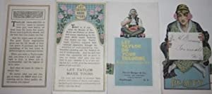 Beauty in clothes must be backed up by skilful, expert tailoring.: J. L. Taylor & Co.