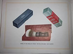 Trade Catalogue] Set in Rubber. Simms Trade Mark. A Catalogue of Lather Brushes Covering one of the...