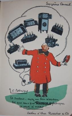 Les 16 conseils de Radiola: Bellaigue, J. C. [Jean-Claude], illustrator