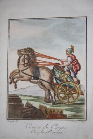L'Antique Rome Description Historique & Pittoresque de out ce qui concerne le peuple ...