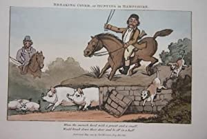 "The Old English Squire ""A Jovial Gay Fox Hunter, Bold, Frank and Free."" A Poem, In Ten ..."