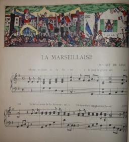 La Musiques de la Guerre. Hymnes Allies: Thevenaz, Paulet, illustrator