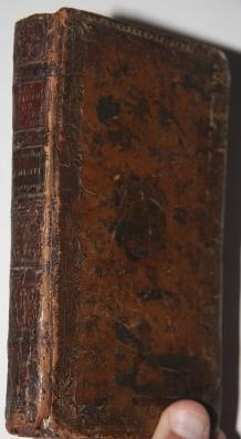Faux Book] Notepad in an Eighteenth Century Full Calf Armorial Binding