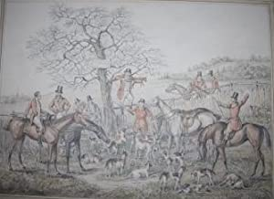 Original Watercolours of Fox-Hunting Scenes