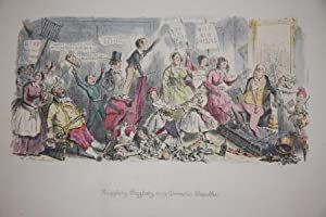 Follies of The Year: A Series of Coloured Etchings from Punch's Pocket Books 1844 - 1864: Leech...