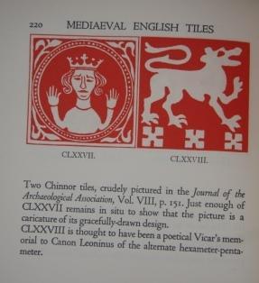 Medieval English Pavingtiles: Haberly, Loyd, author and illustrator