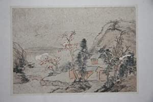 Leporello of Eleven Japanese Landscape