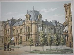 Göteborg. Aqvarelle Lithografier af O. A. Mankell: Mankell, O.A.