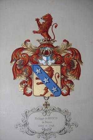 Armorial Neuchatelois. Galerie Historique du Chateau de Neuchatel, contenant les armoiries des ...