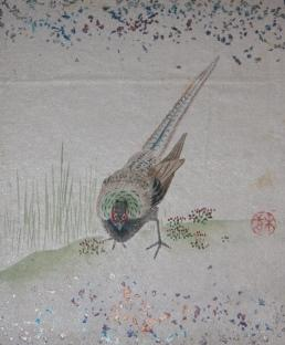 Japanese Leporello with 24 Original Mounted Signed Watercolors, Circa Early 20th Century