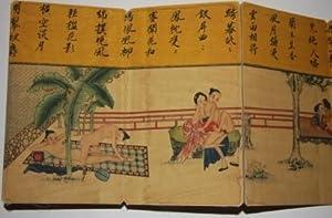 Chinese Erotic Leporello or Pillow Book