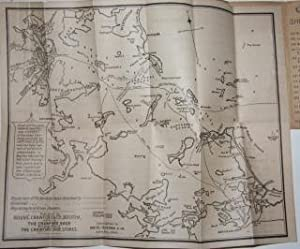 Correct Map of Boston Harbor Giving Route and Official Summer Time-Table of the Nantasket Beach ...