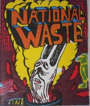 National Waste Issue One, July 2002: Goldberg, L., artist