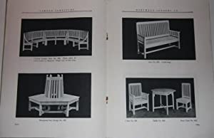 Trade Catalogue] Garden Furniture Hartmann-Sanders Co. New York . . . Chicago Catalog No. 35