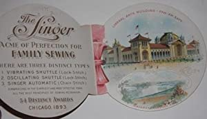 "Singer the Universal Sewing Machine ""All Over the World"""