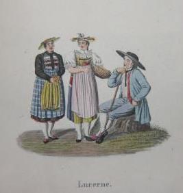 Collection des Costumes de la Suisse et de les pays limitrophes