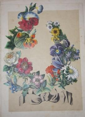 Das Reich der Blumenkönigen. Sinnige Unterhaltung. L Empire de la reine des fleurs. Récréation ...