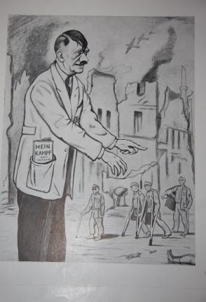 "Kreatury ""Nové Evropy"". 12 politických karikatur: Bohman, Hanus. Introduction by Dr. A. ..."