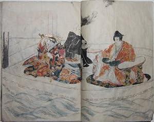 Original watercolors of Japanese life, late nineteenth century
