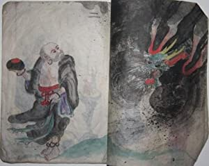 Chinese Miao Album of Original Watercolors