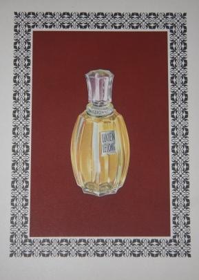 Parfums Lucien Lelong: Cassandre, A. M. [Adolphe Mouron Cassandre], illustrator and designer. ...