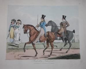 A Set of Six Plates on Horse Riding: Alken, Henry