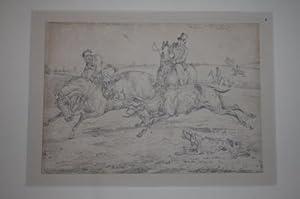 Six Drawings of Sporting Notions: Alken, Henry