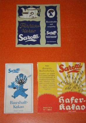 Trade Catalogue] Album of Sarotti Chocolate Promotions and Wrappers
