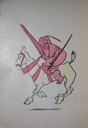 The Pink Knight: Monsell, J. R.