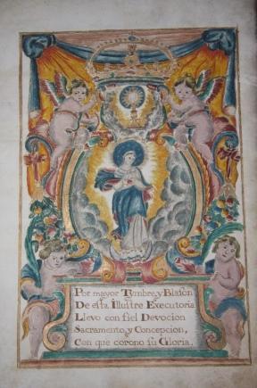 Spanish Manuscript] Royal Grant of Arms
