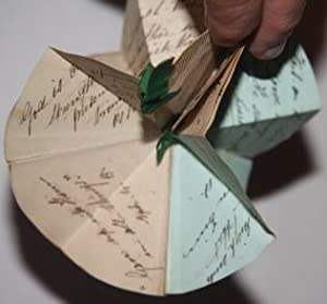 Origami Christmas Ornament, with quotes from the