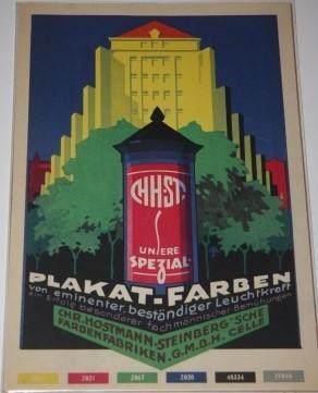Sales Promotion] Art Deco Paint Color Advertisement