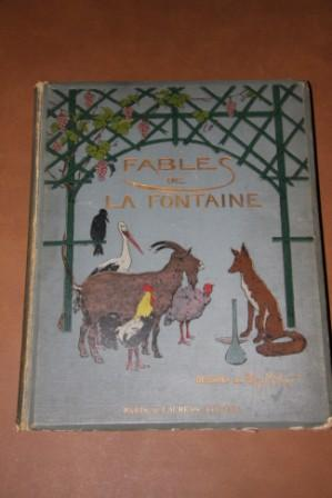 Fables De La Fontaine. Cent Fables Choisies