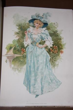 Poems By Dobson, Locker and Praed, with Fac-Similes of Water-Color Paintings By Maud Humphrey, ...