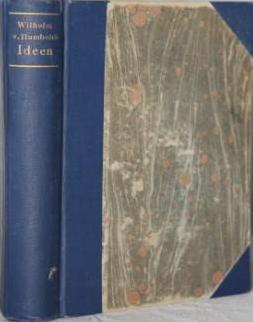 Ideen zu Einem Versuch die Grenzen der Wirksamkeit des Staats zu Bestimmen: Von Humboldt, Wilhelm