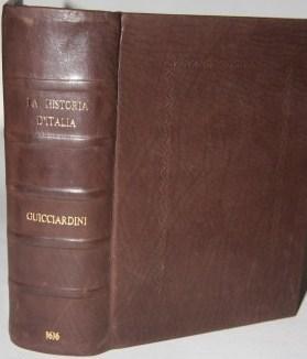 La Historia d'Italia, divisa in venti libri,: Guicciardini, Francesco