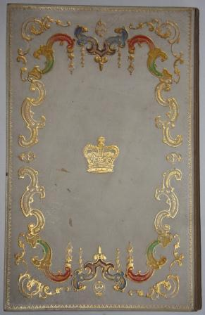 "Presentation Notebook"" or ""Folio"" Bearing the Coat-of-Arms of the United Kingdom"
