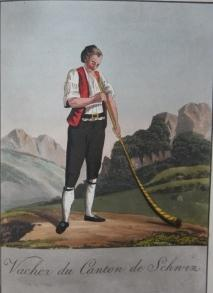A Collection of Swiss Costumes in Miniature.: Reinhardt