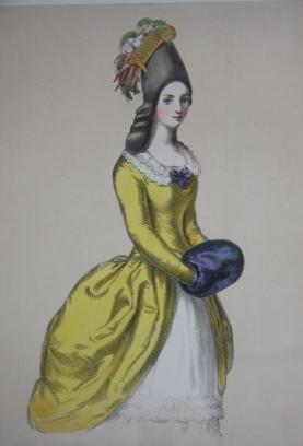 Costumes of British Ladies from the time of William the 1st to the reign of Queen Victoria