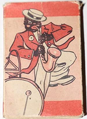 [Cards] Deck of 24 Cards with Black Sax Player on box
