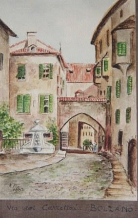 Watercolor Album of European Views